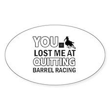 Hardcore Barrel Racing designs Decal