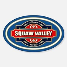 Squaw Valley Old Label Decal