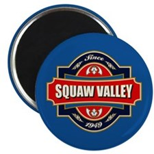 Squaw Valley Old Label Magnet