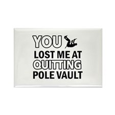 Hardcore Pole Vault designs Rectangle Magnet