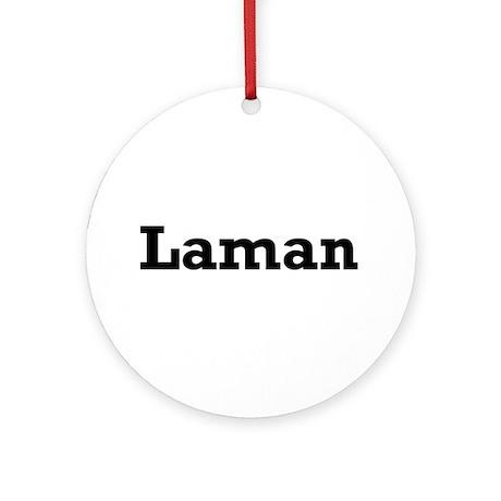 Laman Ornament (Round)