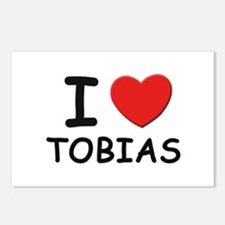 I love Tobias Postcards (Package of 8)