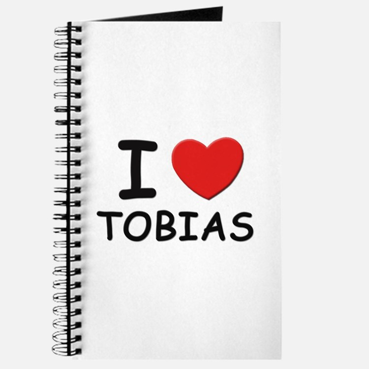 I love Tobias Journal