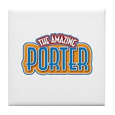 The Amazing Porter Tile Coaster