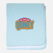 The Amazing Quincy baby blanket