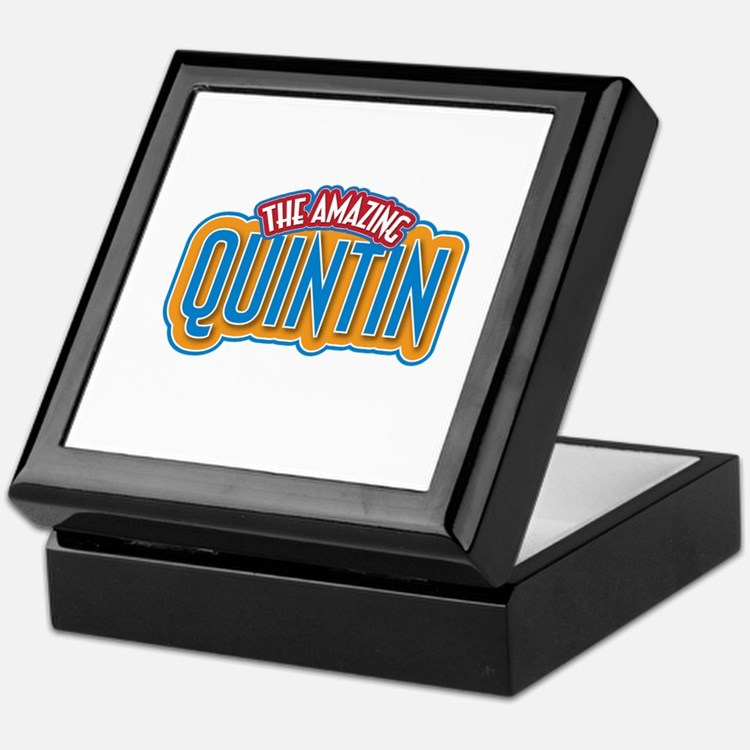 The Amazing Quintin Keepsake Box