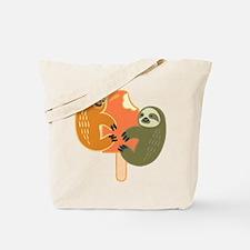 Slothsicle Tote Bag