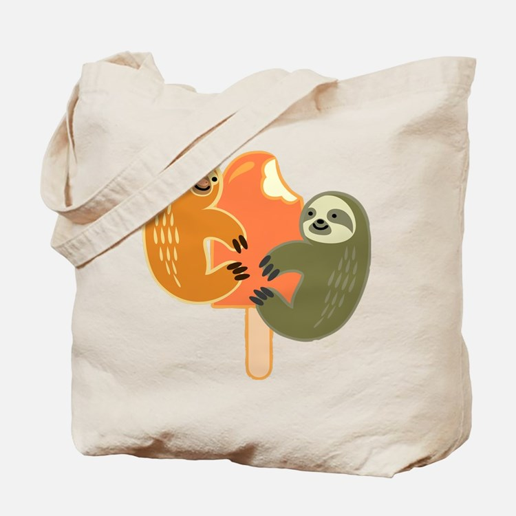 Slothsicle Tote Bag