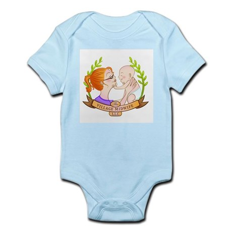 The Village Midwife Logo! Body Suit