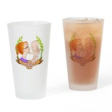 The Village Midwife Logo! Drinking Glass