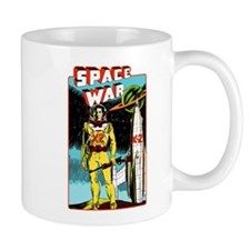 Space War scifi vintage Mug