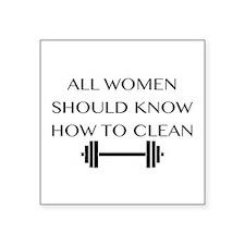 clean Sticker