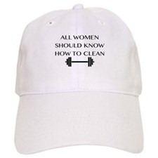 clean Baseball Baseball Cap