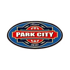 Park City Old Label Patches