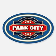 Park City Old Label Decal