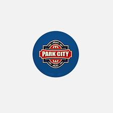 Park City Old Label Mini Button