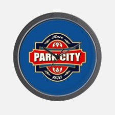 Park City Old Label Wall Clock