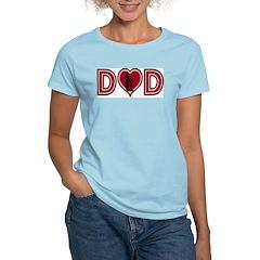 Fishing Dad Women's Pink T-Shirt