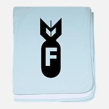 F Bomb, F-Bomb baby blanket