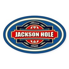 Jackson Hole Old Label Decal