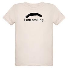 I am smiling. T-Shirt