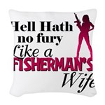 fishermanswife.png Woven Throw Pillow