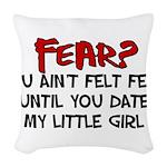 fear.png Woven Throw Pillow