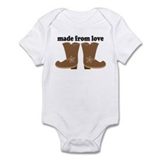 Cowboy Boots Made From Love Body Suit