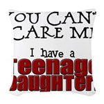 You Can't Scare Me - Teenage Daughter Woven Throw