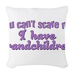 grandchildren2.png Woven Throw Pillow