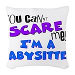 babysitter.png Woven Throw Pillow