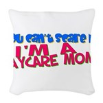 daycaremomscare.png Woven Throw Pillow