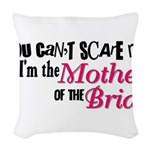 Mother of the Bride Woven Throw Pillow