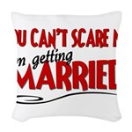 married.png Woven Throw Pillow
