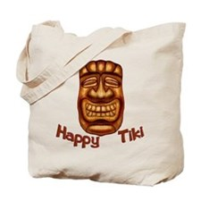 Happy Tiki Tote Bag