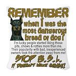 Remember when? Woven Throw Pillow