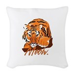 meow.png Woven Throw Pillow