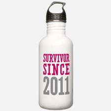 Survivor Since 2011 Water Bottle
