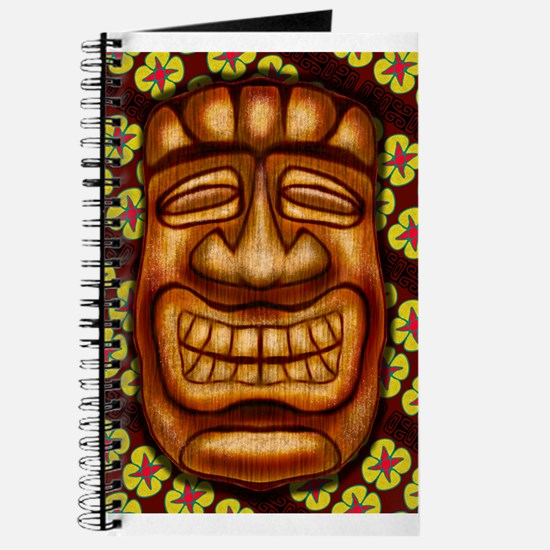 Happy Tiki Print Journal