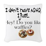 Mary Woven Throw Pillow