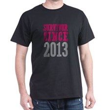 Survivor Since 2013 T-Shirt