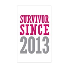 Survivor Since 2013 Decal