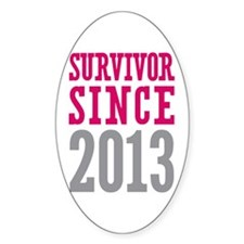 Survivor Since 2013 Decal
