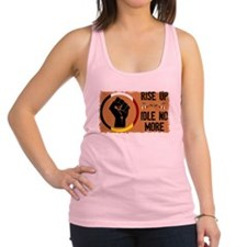 Rise Up - Idle No More Racerback Tank Top