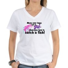 Move Over Boys - Fish Shirt