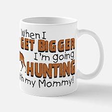 Hunting With Mommy Mug