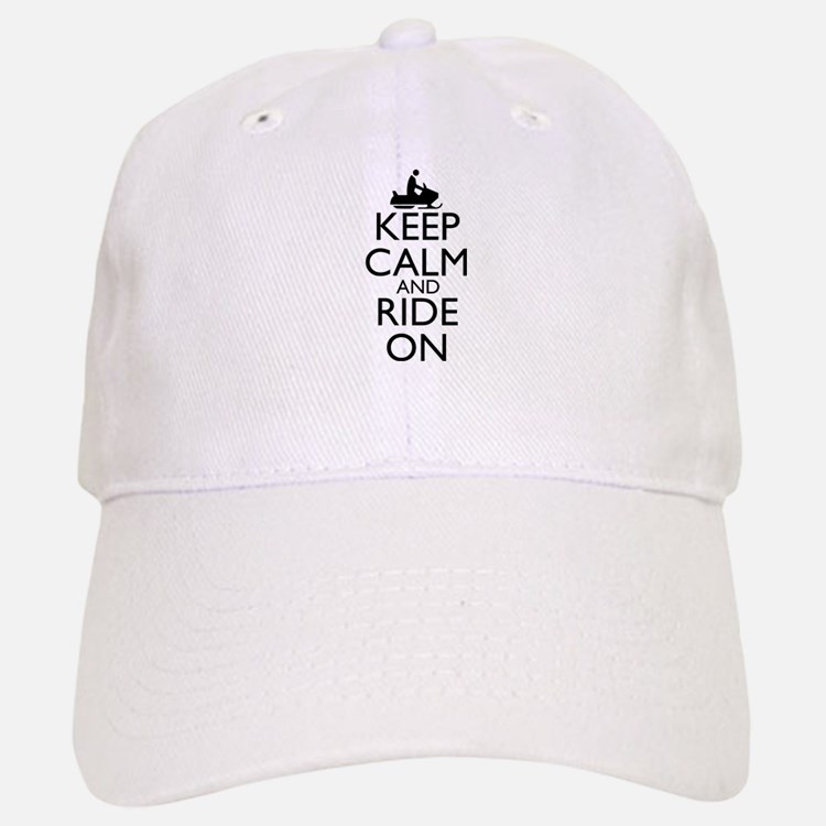 Keep Calm and Ride On Hat