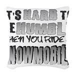 Hard to be Humble Woven Throw Pillow