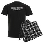 Trick Question Men's Dark Pajamas