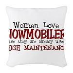 womenlove.png Woven Throw Pillow